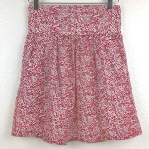 Zara Basic Floral Skirt